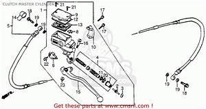 Honda Vf500c V30 Magna 1984 Usa Clutch Master Cylinder