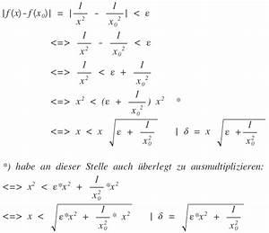 Trefferquote Berechnen : stetigkeit mit epsilon delta kriterium mathelounge ~ Themetempest.com Abrechnung