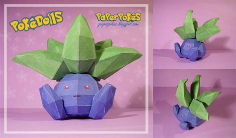 Charmander Squirtle Bulbasaur Wallpaper Oddish Pokedoll Papercraft By Lyrin 83 On Deviantart