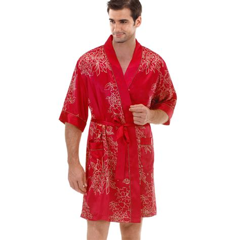 robe de chambre satin homme gorgeous designs mens indoor satin robe mens silk dressing