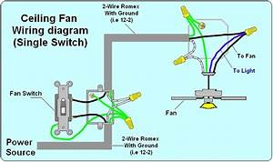 2wire Switch Wiring Diagram Ceiling Fan Light : 2 way light switch wiring diagram house electrical ~ A.2002-acura-tl-radio.info Haus und Dekorationen