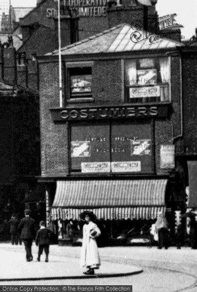 Photo of Rochdale, Costumier's Shop, Broadway c.1910
