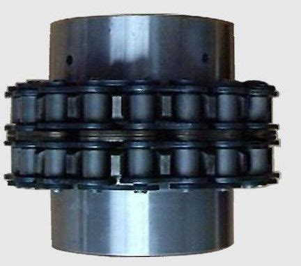 forged steel chain shaft coupling natural color industrial couplings