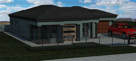 Bedroom In A Box South Africa by 3 Bedroom House Plan Mlb 014 1 My Building Plans South