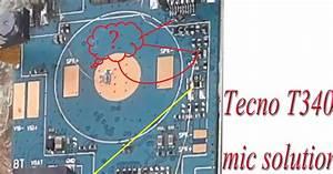 Tecno T340 Mic Jumper No Cpu Change