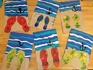 Basteln Sommer Grundschule : kunst in der grundschule strandbild school pinterest strandbilder grundschulen und schule ~ Frokenaadalensverden.com Haus und Dekorationen