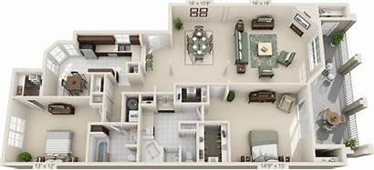 Apartments Bedroom Antonio San Meridian Sq Ft