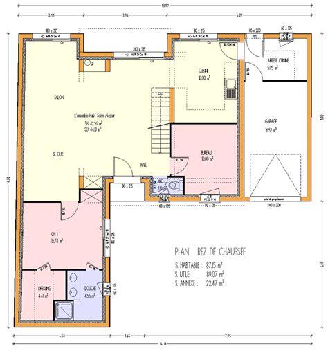 plan 3 chambres plan de maison gratuit 3 chambres images