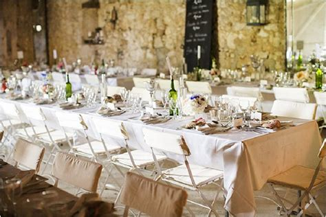shabby chic wedding reception relaxed wedding at chateau soulac in the dordogne