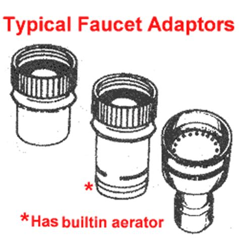 Portable Dishwasher Faucet Adapter Kit by Appliance411 Faq Repairing A Portable Dishwasher Unicouple