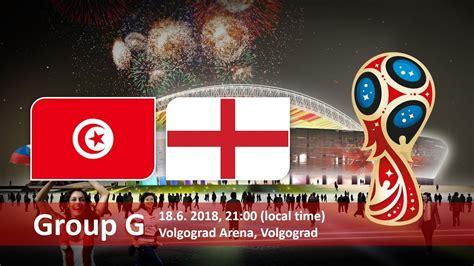 Tunisia England Group Fifa World Cup