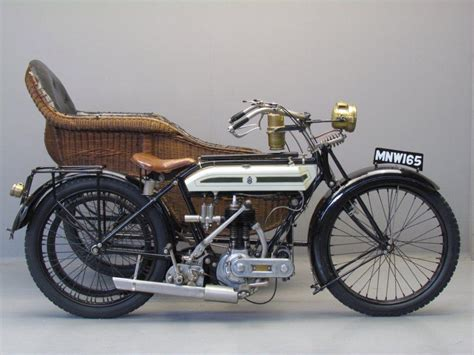 Triumph 1917 Model H 550 Cc 1 Cyl Sv