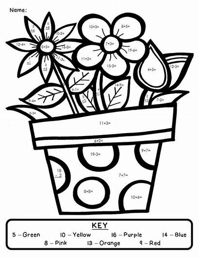 Addition Number Digit Double Coloring Pages