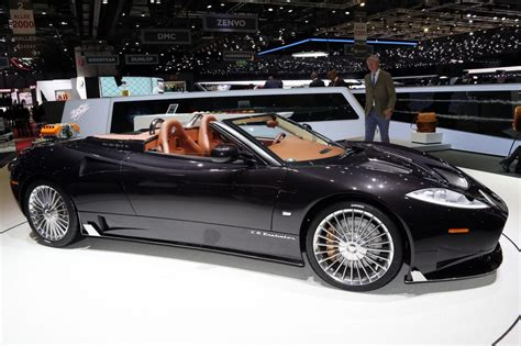 Spyker C8 Preliator Spyder Revealed At Geneva Show