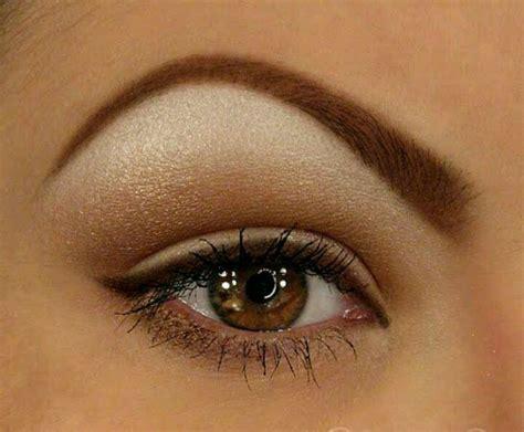 arched eyebrows eyebrows   simple eye makeup