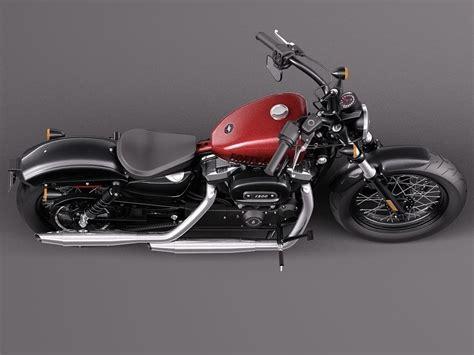 Harley Davidson Sportster Models by Harley Davidson Sportster Forty Eight 2015 3d Model Max