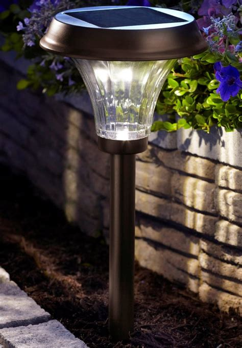 moonrays 91754 richmond solar light metal path light with