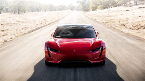 Wallpaper Tesla Roadster, 2020, Hd, 4k, Automotive / Cars