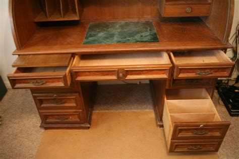wooden roll top desk solid wood roll top desk antique appraisal instappraisal