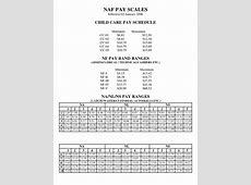 Naf Army Civilian Pay Scale 2017 Printable Calendar