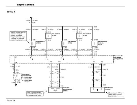 Wiring Diagram 2000 Ford Focu Zetec by Repair Guides Engine Systems 2004 Engine