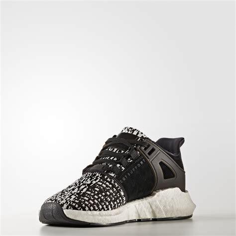 adidas eqt support 93 17 quot black white glitch quot shoe engine