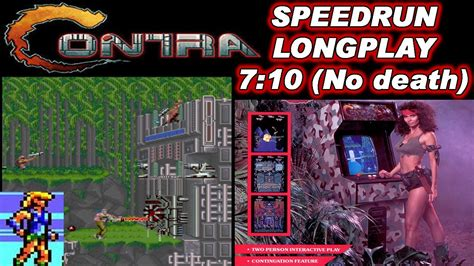 Arcademame Contra Speedrun Longplay No Death