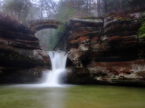 Hocking Hills State Park, an Ohio State Park located near ...