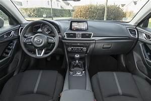Mazda3 Dynamique : essai mazda 3 restyl e 2017 notre avis sur la mazda 3 essence photo 29 l 39 argus ~ Gottalentnigeria.com Avis de Voitures