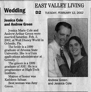 random mews 2011 december With wedding announcement templates newspaper