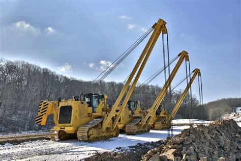 pl pipelayer sideboom pipeline construction equipment