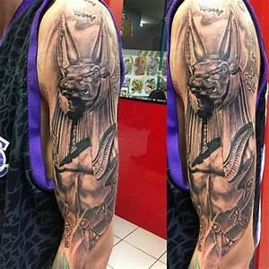 Anubis Egyptian God Tattoo | Tattoo | Pinterest | God ...
