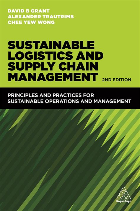 sustainable logistics  supply chain management