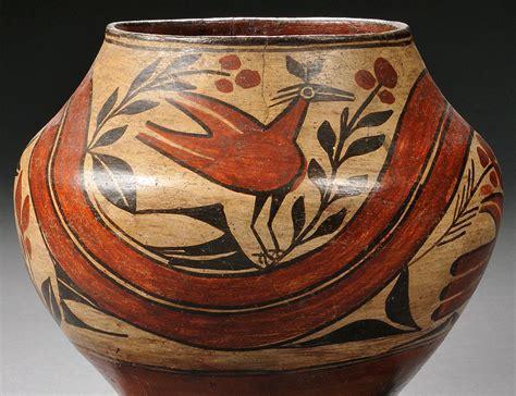 Early 20th Century Zia Pueblo Indian Tribal Sale 2774t