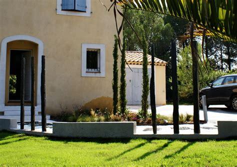 le bureau contemporain aménagement jardin contemporain aix en provence