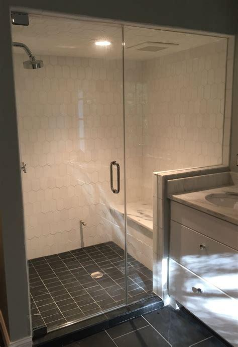 Frameless Shower by Steam Showers Frameless Shower Doors