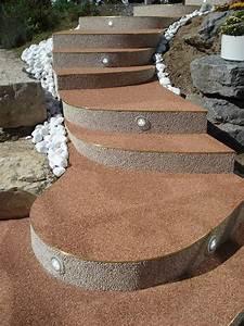 Fugen Wasserdicht Machen Außen : steinteppich kieselbeschichtung ~ Lizthompson.info Haus und Dekorationen