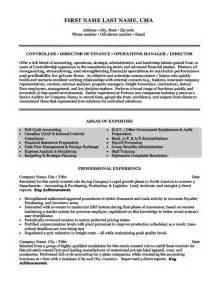 finance operation executive resume top accounting resume templates sles