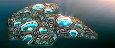 floating cities   ocean humanitys  frontier