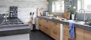 Küche Aus Beton : rustikal moderne k che mit fronten aus eiche und abdeckung aus beton von koak design aus ~ Sanjose-hotels-ca.com Haus und Dekorationen