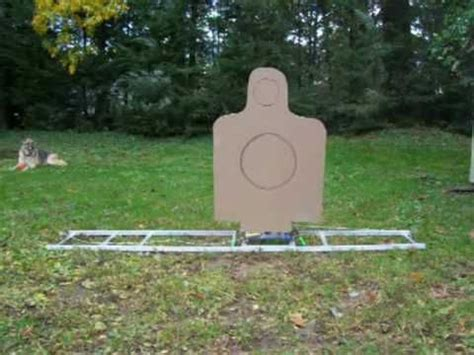inexpensive moving target stands part  youtube shooting targets range targets archery