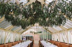 this beautiful botanical wedding was held inside an