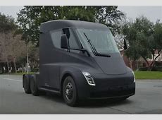 Tesla Semi Truck officially revealed pictures Auto Express