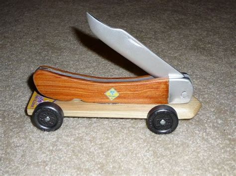 pinewood derby car scout knife pinewood derby cars
