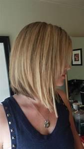 Long Inverted Bob Hairstyles Fade Haircut