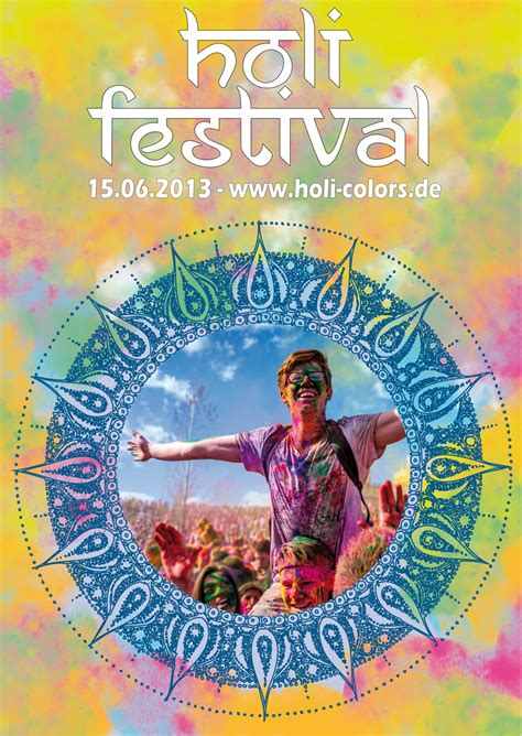 tutorial plakat fuer das holi festival gestalten