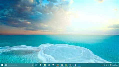 Change Windows 10 Desktop