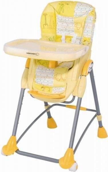 chaise de table bébé confort bébé confort chaise haute omega jardin de lulu