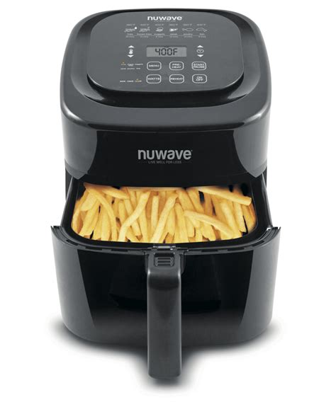 fryer air nuwave brio digital walmart quart qt tv seen fryers kitchen cooking save 3qt 6qt