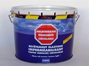 peinture etanche pour un sol arcaterrasse etancheite With peinture etanche pour terrasse
